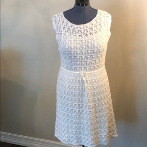 🆕 Joe Fresh crochet dress in off white